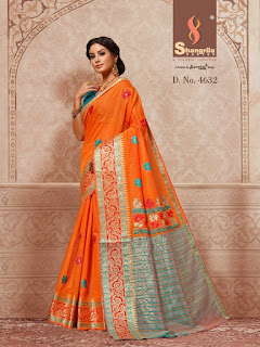 Shangrila Namrata Cotton Silk Saree