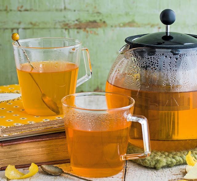 Turmeric Tea With Lemon And Ginger Recipe