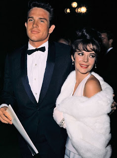 Natalie Wood Warren Beatty 1962 Oscars