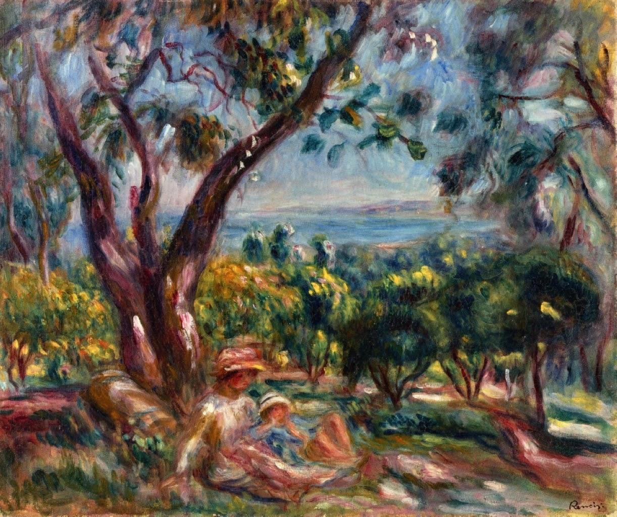 Auguste Renoir ~ Paisagens de verão