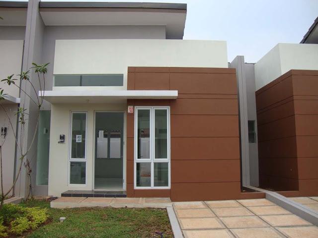 Contoh Rumah Minimalis atap cor tanpa genteng