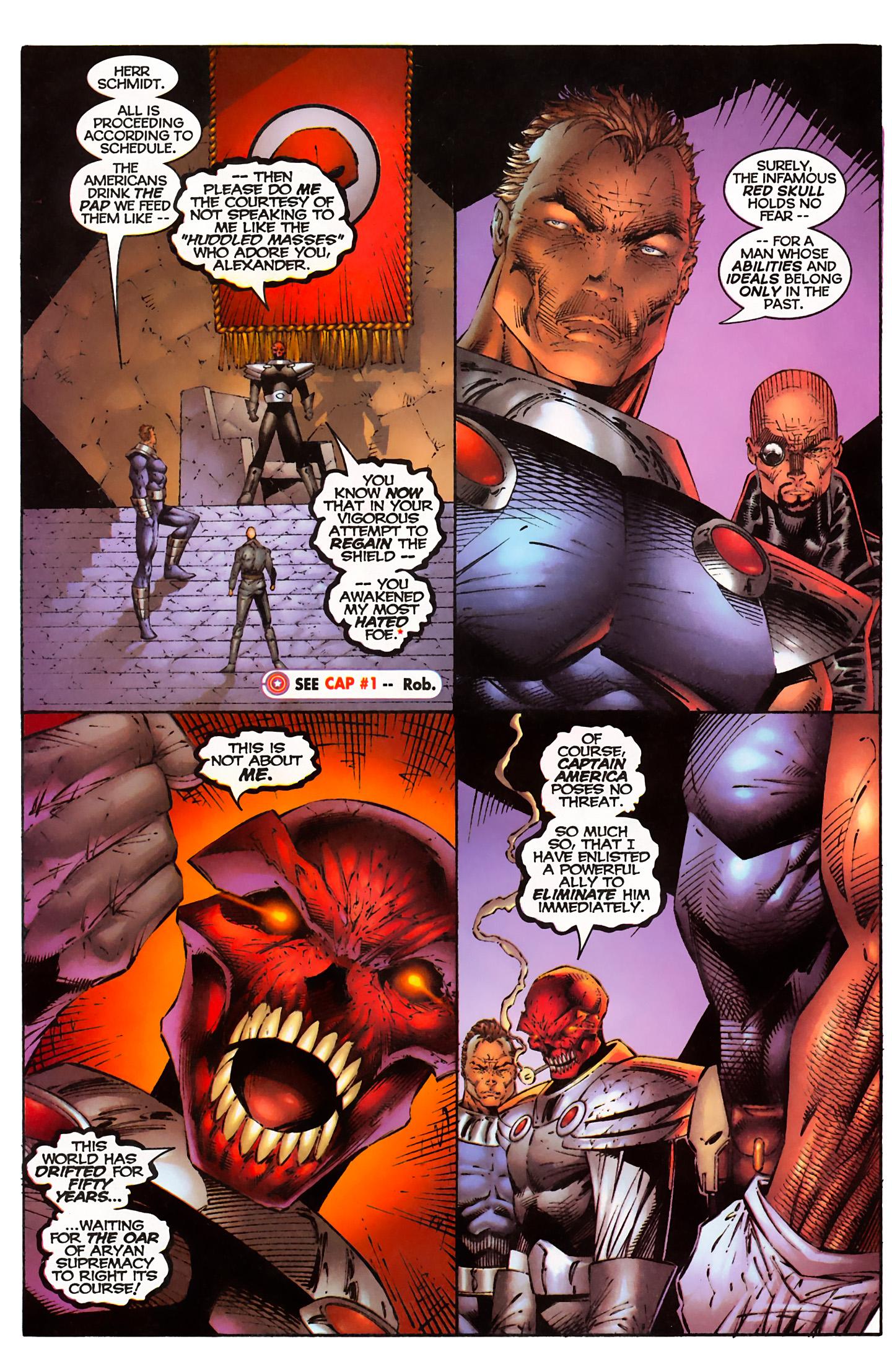 Captain America (1996) Issue #3 #3 - English 16