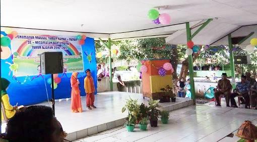 Meriah ,Penamatan Massal Murid TK, Se-Kecamatan, Bontomanai Selayar