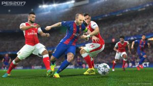 Imagem do jogo Pro Evolution Soccer 2017 PES 2017 PS3