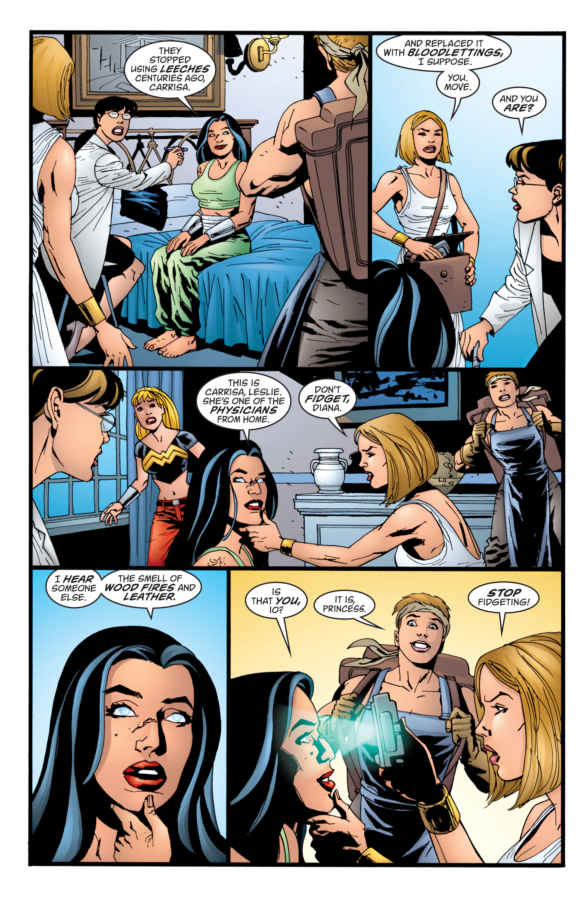 Read online Wonder Woman (1987) comic -  Issue #211 - 18
