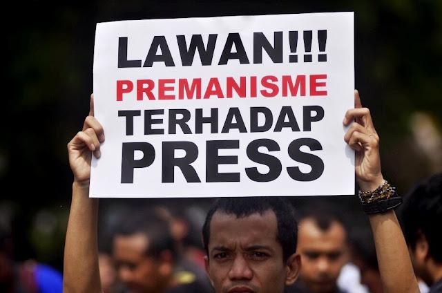 Dua jurnalis televisi di Makassar dianiaya saat liputan