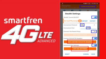 Anonytun Kartu Smartfren 4G Unlimited 4