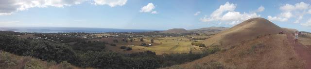 Vistas desde Puna Pau, Isla de Pascua