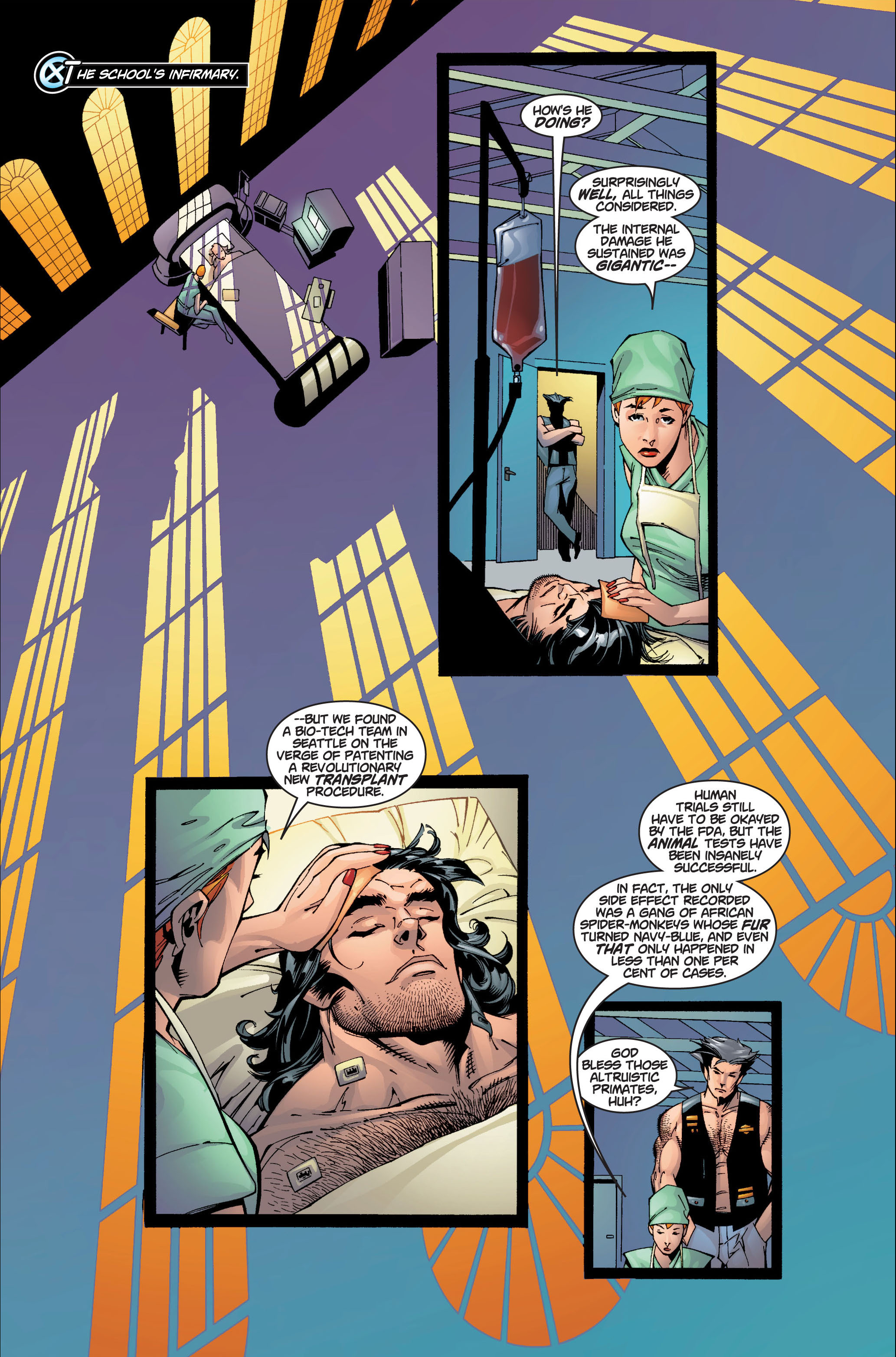 Read online Ultimate X-Men comic -  Issue #4 - 11