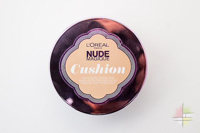 Base de maquillaje Nude Magique Cushion de L'Oreal