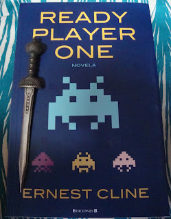Portada del libro Ready Player One, de Ernest Cline