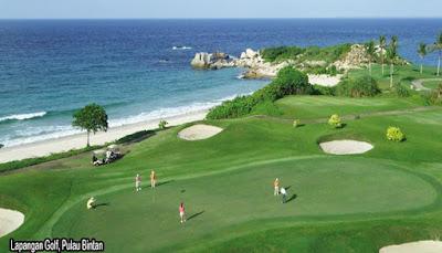 lapangan golf pulau bintan