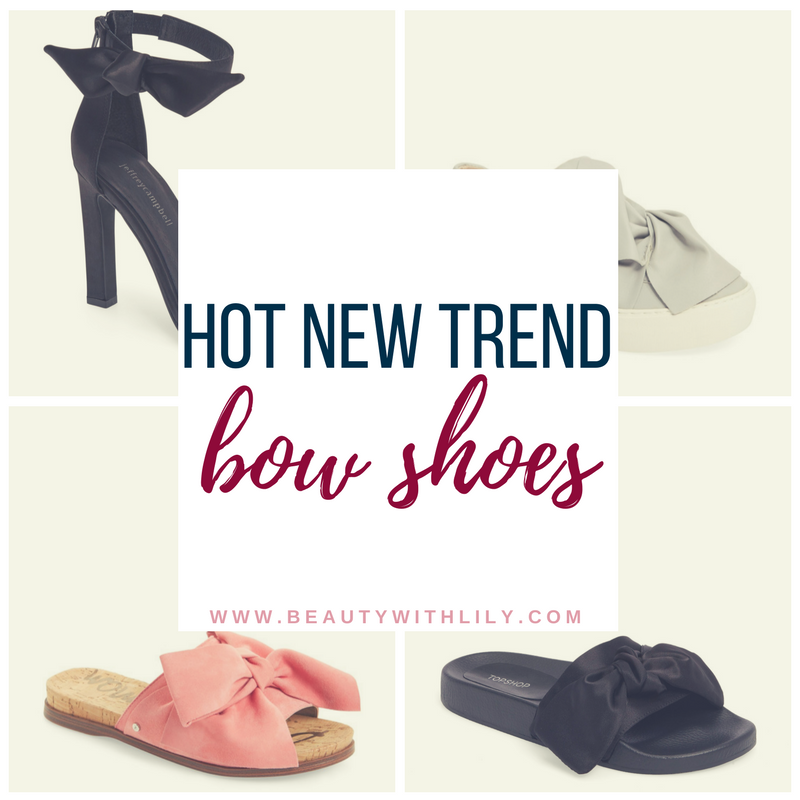 Stylish Bow Shoes // Affordable Bow Shoes // New Shoe Trends   beautywithlily.com