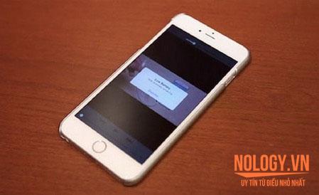 khắc phục iphone 5s bị chai pin, phồng pin