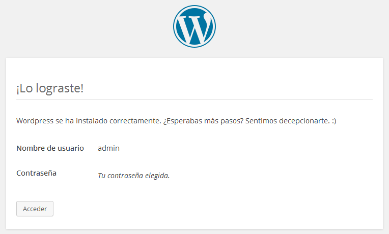 wordpress-y-wampserver