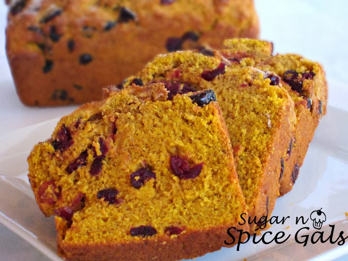 Mini Pumpkin Cranberry Bread Sugar N Spice Gals