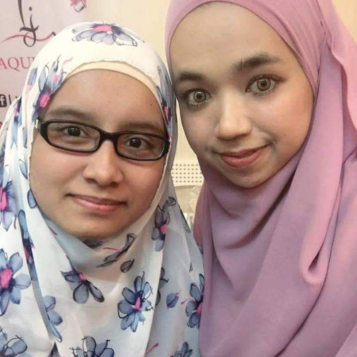 With MUA Liyana Jasni
