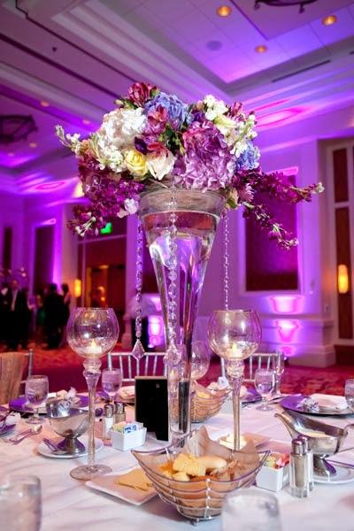 Purple Wedding Centerpieces Wedding Stuff Ideas