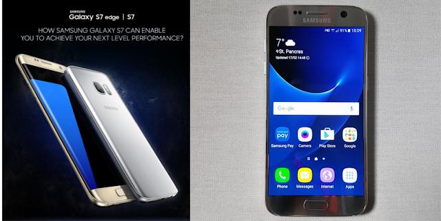 Samsung Galaxy S7 dan Samsung Galaxy S7 Edge