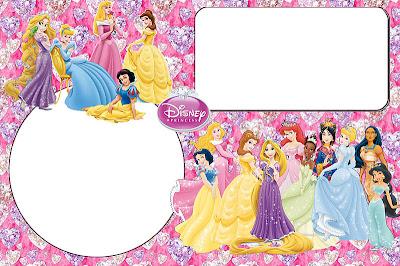 Disney Princess Free Printable Invitations Oh My Fiesta in english