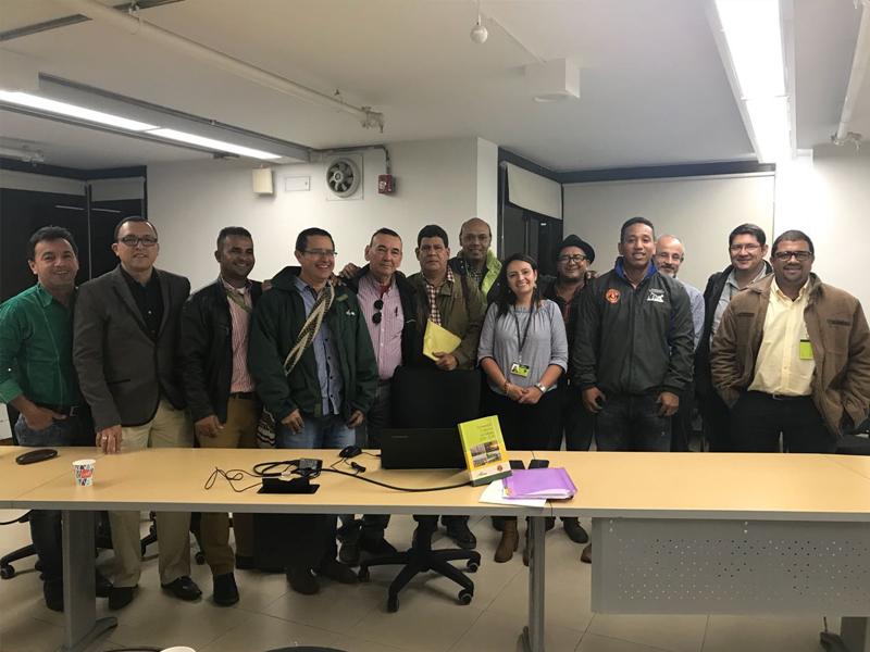 Segundo comité paritario de Educación en Bogotá.