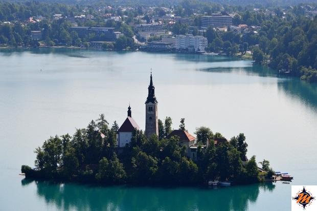 Isola nel lago di Bled