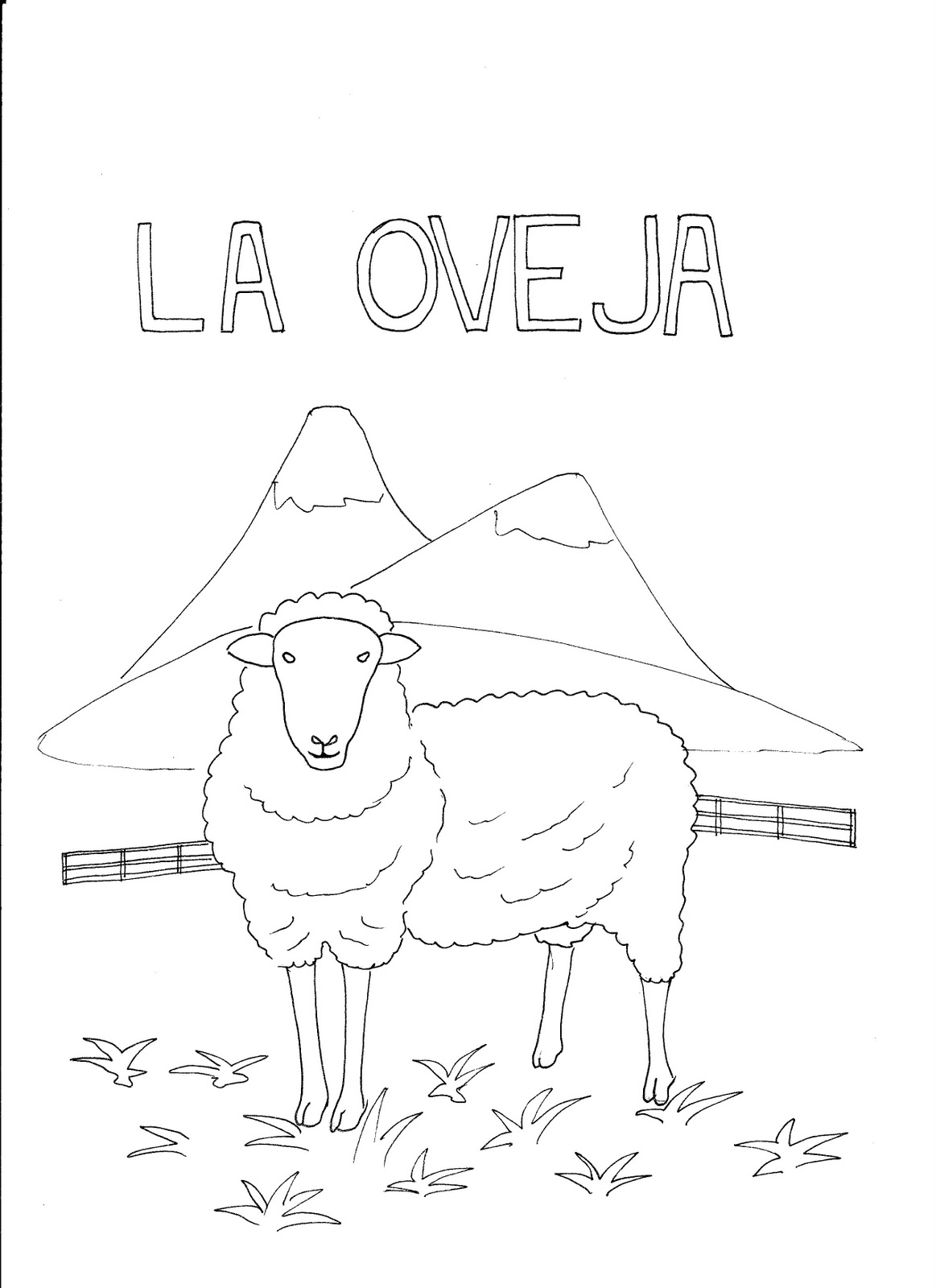 La Ropa Spanish Coloring Worksheets Sketch Coloring Page