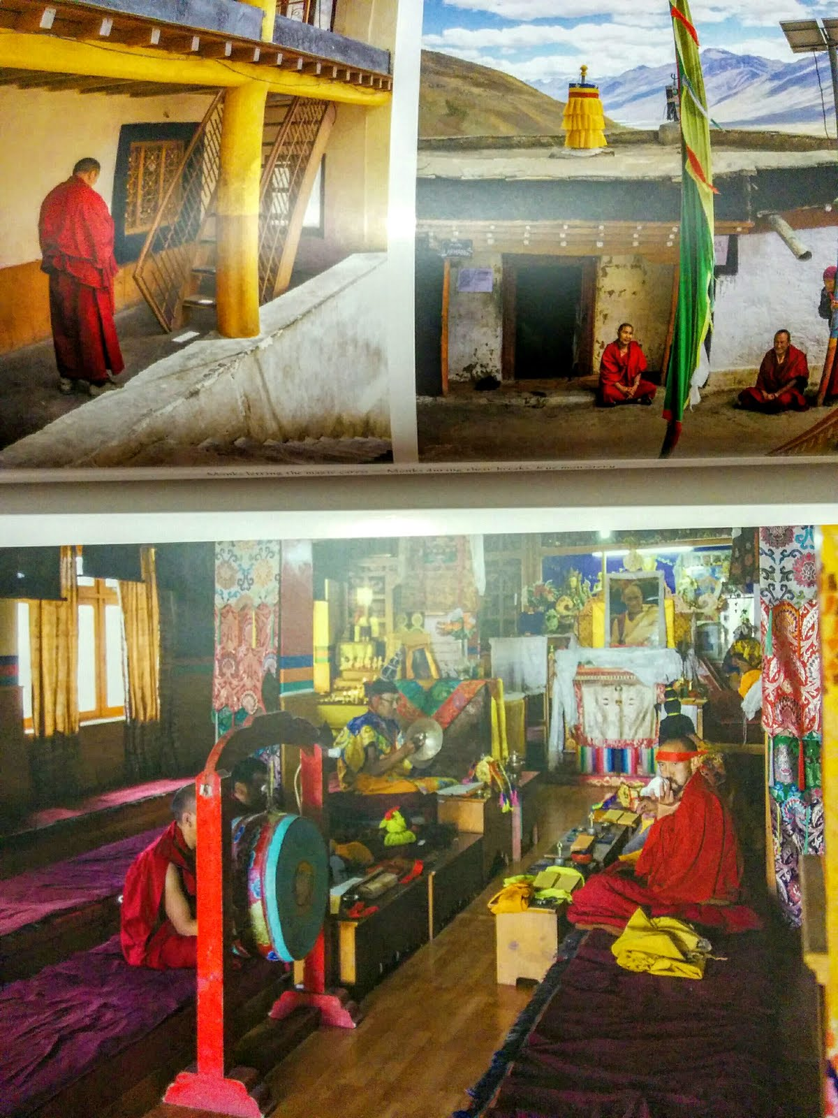 Monk's Life in Spiti Valley through a coffee table book
