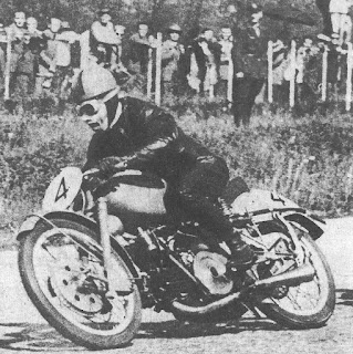 Bruno Ruffo in action on the track