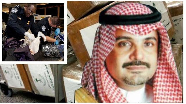 Saudi Prince Caught Carrying 10 Kilos of Drugs Again
