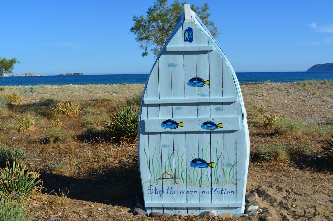 The Greek Island Kimolos Installed Lending Libraries On Its Beaches