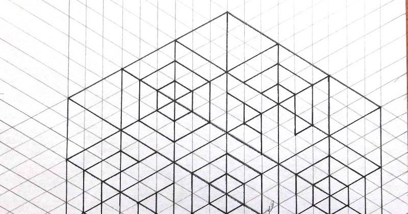 Bastelhexe\'s Kreativecke: Hexagon-Würfel - Vorlage