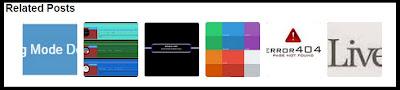 Cara Membuat Related Post Thumbnail Horizontal di Blog