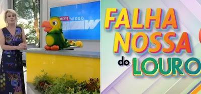 Ana Maria e Louro José apresentaram o Momento Vídeo Show
