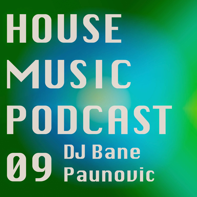 Podcast Episode #09 DJ BANE PAUNOVIC HOUSE MUSIC podcast