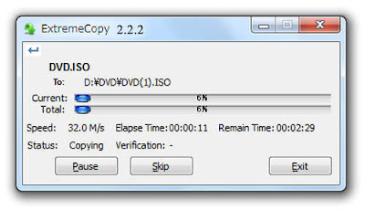 ExtremeCopy 2.2.2 PRO (32+64bit) With Serial