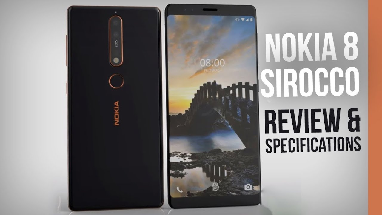 Official Nokia 8 Sirocco Specificationsreview Release Date Price