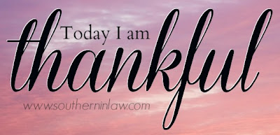 Today I am Thankful - #SILgivethanks
