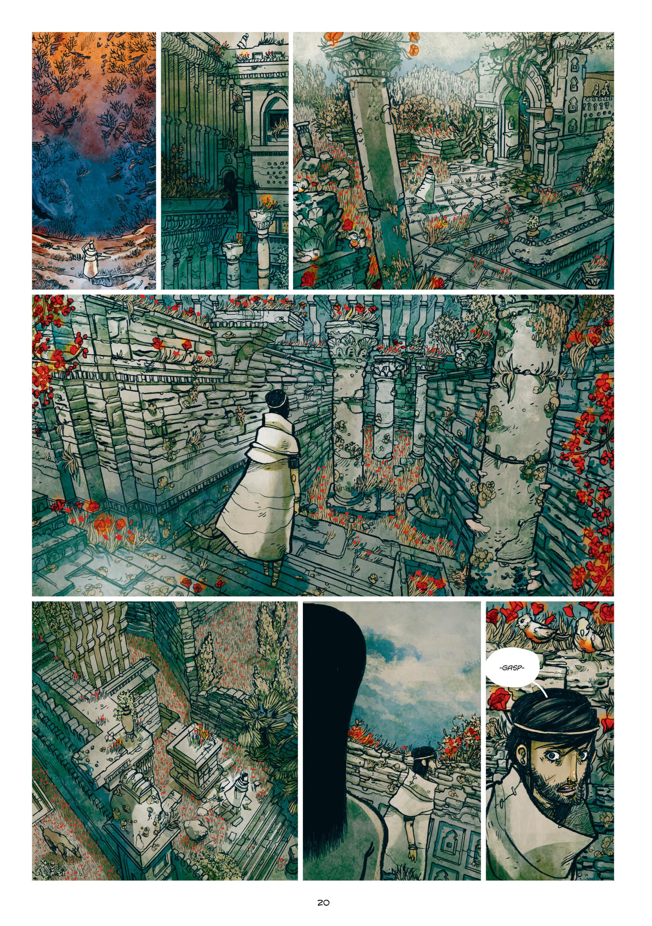 Read online Adrastée comic -  Issue #1 - 21
