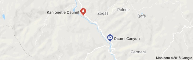 Police rescued a German tourist trapped in Osum River canions