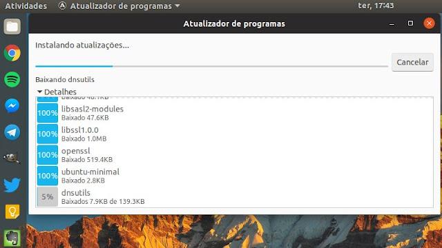 Novo tema do Ubuntu