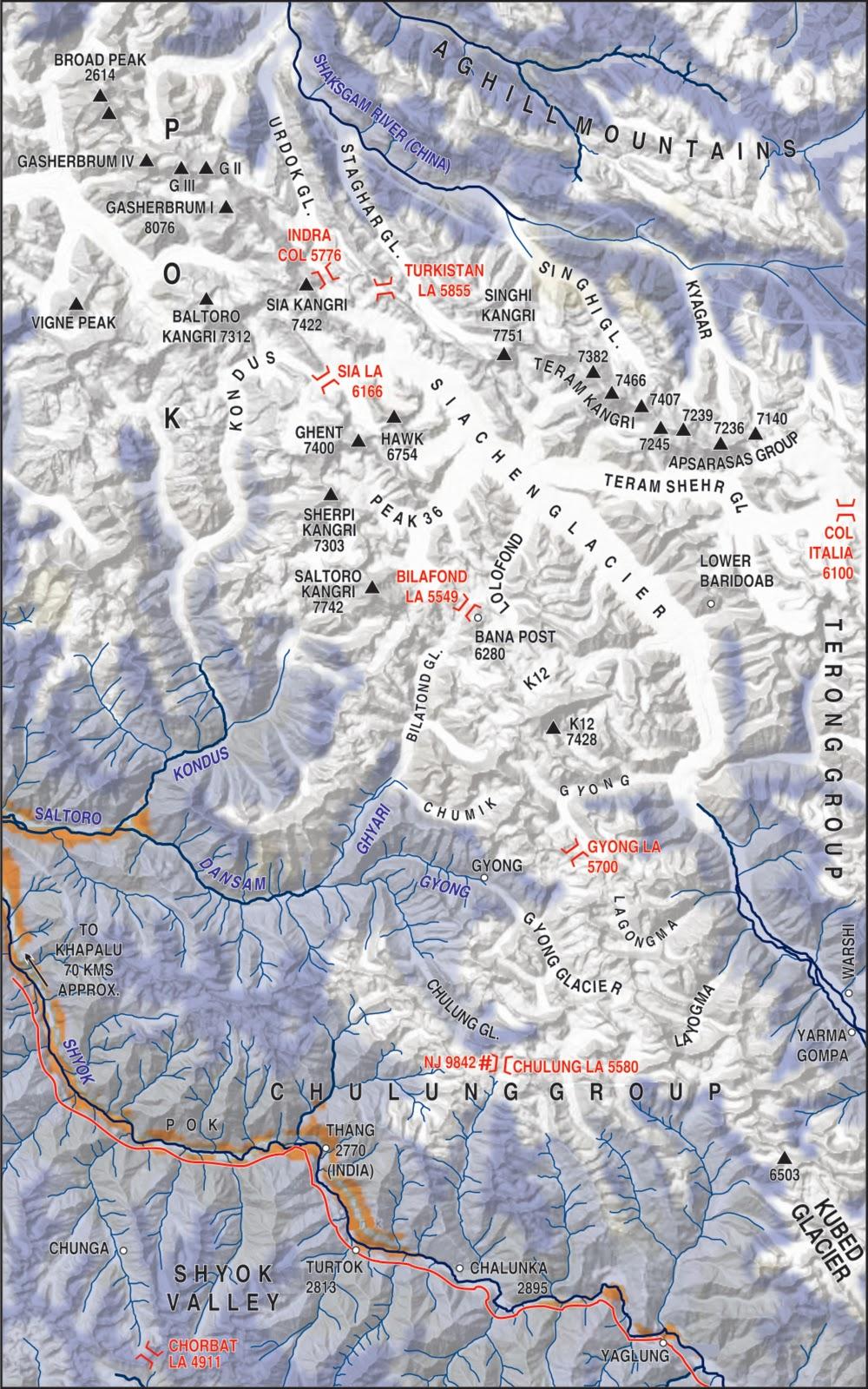 Motor Village La >> Bame Duniya: Ladakh- Changing, yet Unchanged-- missing maps