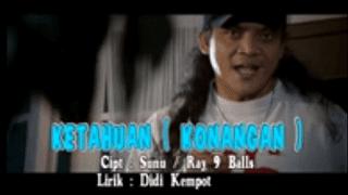 Lirik Lagu Konangan (Ketahuan Versi Jawa) - Didi Kempot