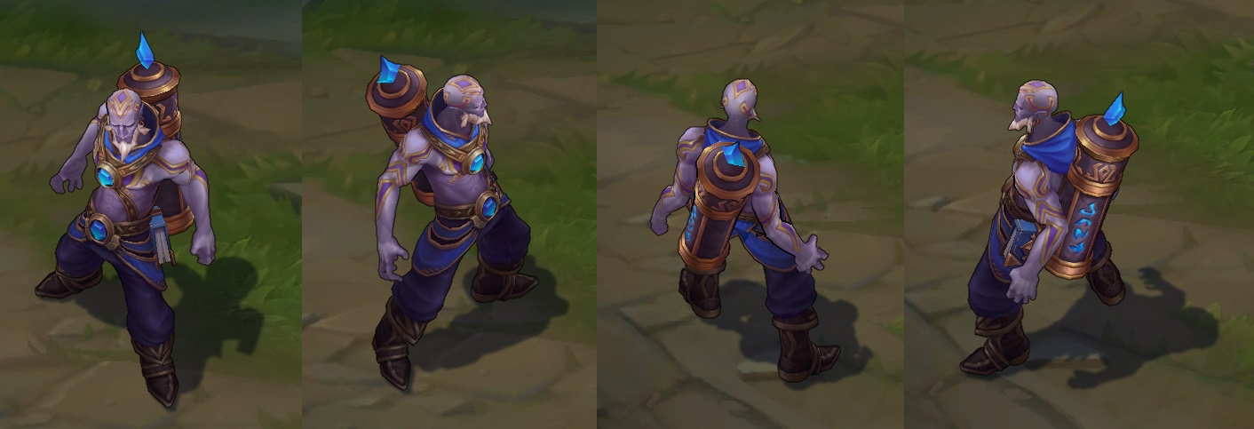 Ryze Champion Update Changes