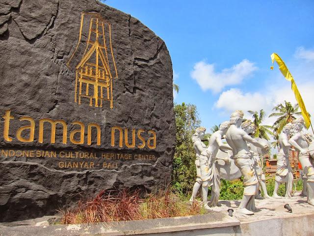 Taman Nusa, Wisata Buatan Yg Cocok Untuk Wisata Budaya di Pulau Bali