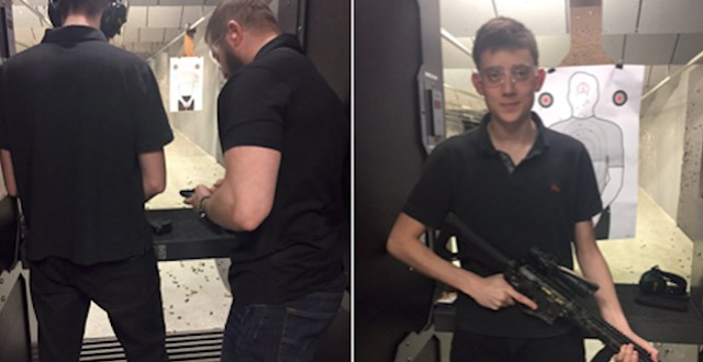 Classy: Marjory Stoneman Douglas Teacher Calls Kyle Kashuv, who is Jewish and whose grandfather survived Nazi Germany, 'The Next Hitler' After Gun Range Visit