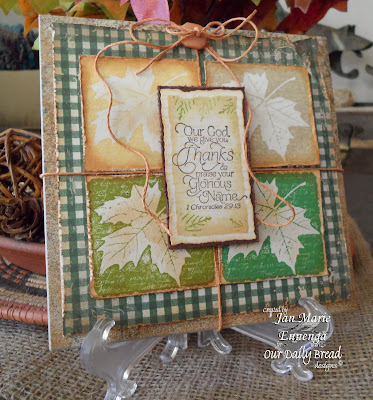 Our Daily Bread Designs, Randi's Song, Thank You, Jan Marie