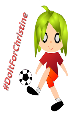 #DoItForChristine, FIFA Women's World Cup 2015, Women's World Cup 2015, World Cup, FIFA World cup, FIFA, WWC 2015, soccer, soccer player, football player, sport, image, Open Clip Art, Another Random Thought of a Procrastinator, Random Thought, Another Random Thought, Random Thoughts, Another Random Thoughts, Procrastinator