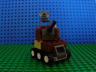 MOC LEGO pequeno Carro de Combate