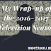 My Wrap-Up Of The 2016-2017 Television Season